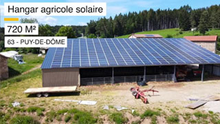 video hangar agricole solaire puy-du-dome
