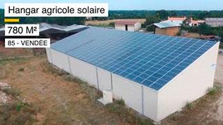 video hangar agricole solaire vendée